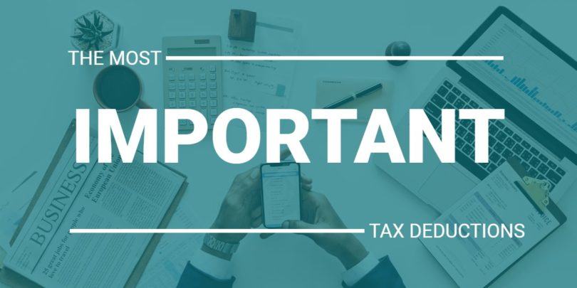 The Most Important Tax Deductions For Small Business